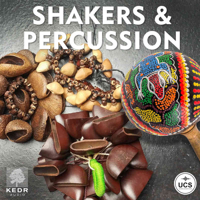 Shakers and percussion