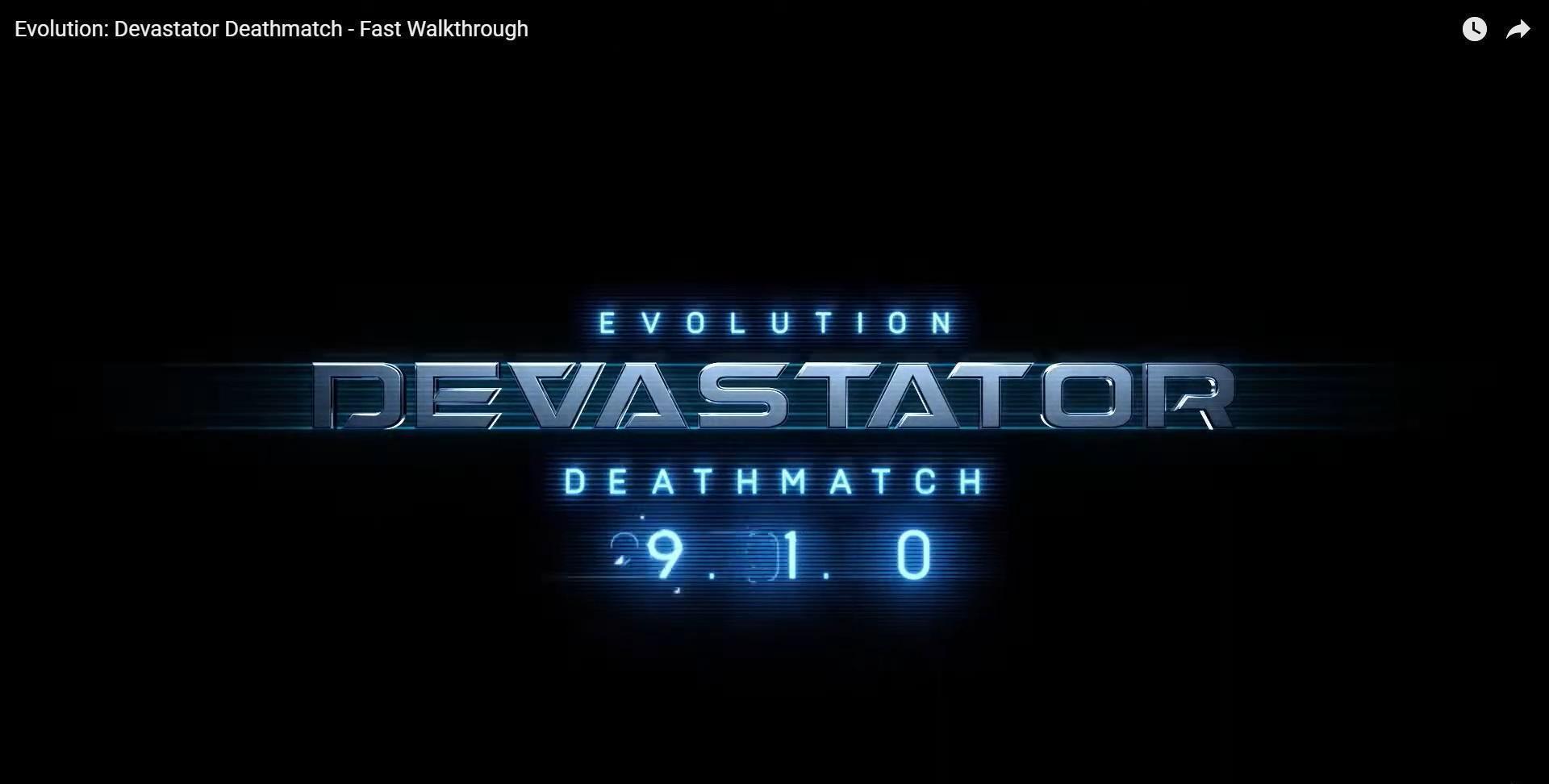 Supporting image for Evolution: Devastator Deathmatch