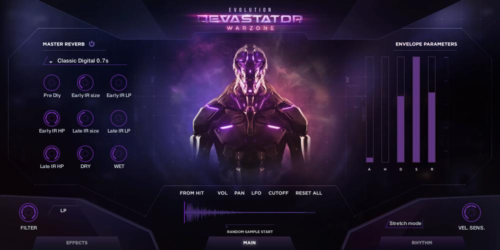 Supporting image for Evolution: Devastator Warzone