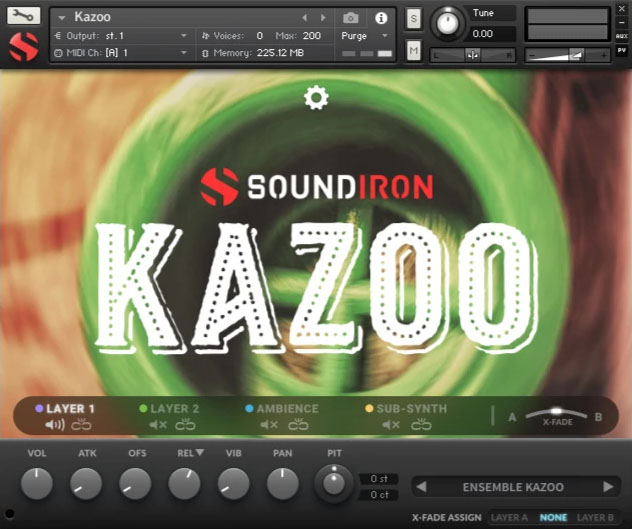 Supporting image for Kazoo