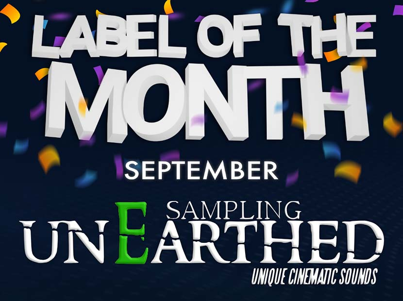 Label of the Month - UnEarthed Sampling